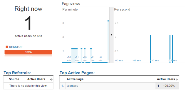 Testing Filtered View - Exclude IP Google Analytics