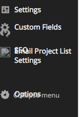 Wordpress Admin and Chrome Display Error, Example 3