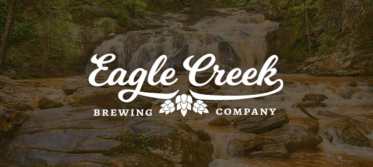 Eagle Creek branding in white